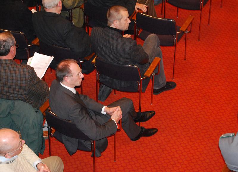 Blick auf die Podiumsdiskussion in der Katholischen Akademie Hamburg