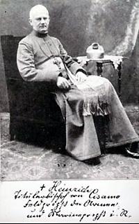 Dr. theol. Heinrich Joeppen, Titularbischof von Cisamus (1913), Feldprobst der Preußischen Armee, der Kaiserlichen Marine und der deutschen Kaiserlichen Schutztruppen. Quelle: AKMB