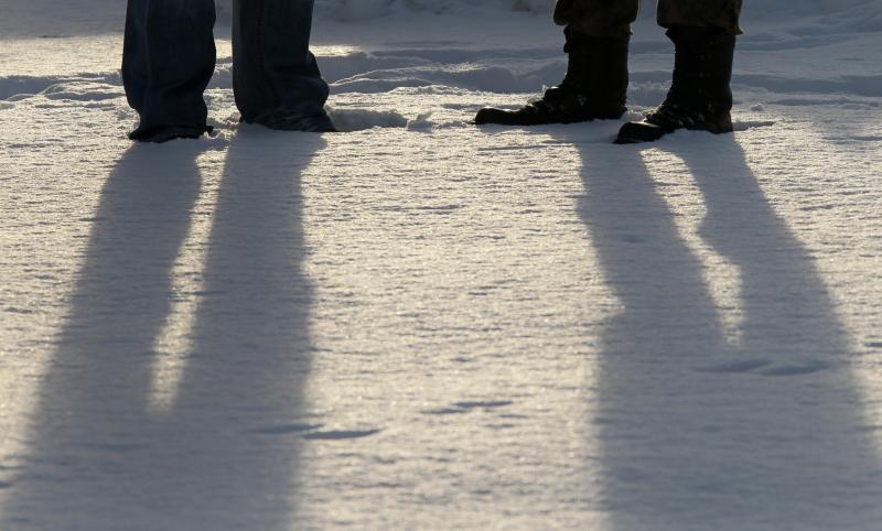 Nicht die der Anderen, sondern die eigenen Schattenseiten betrachten. © Bundeswehr / Andrea Bienert