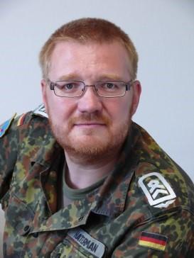 Oberstabsfeldwebel Lutz Hanterman © Bundeswehr / Bernd Czubaiko