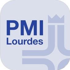 Lourdes App bei Google Play und im App Store. Download unter den jeweiligen Links.