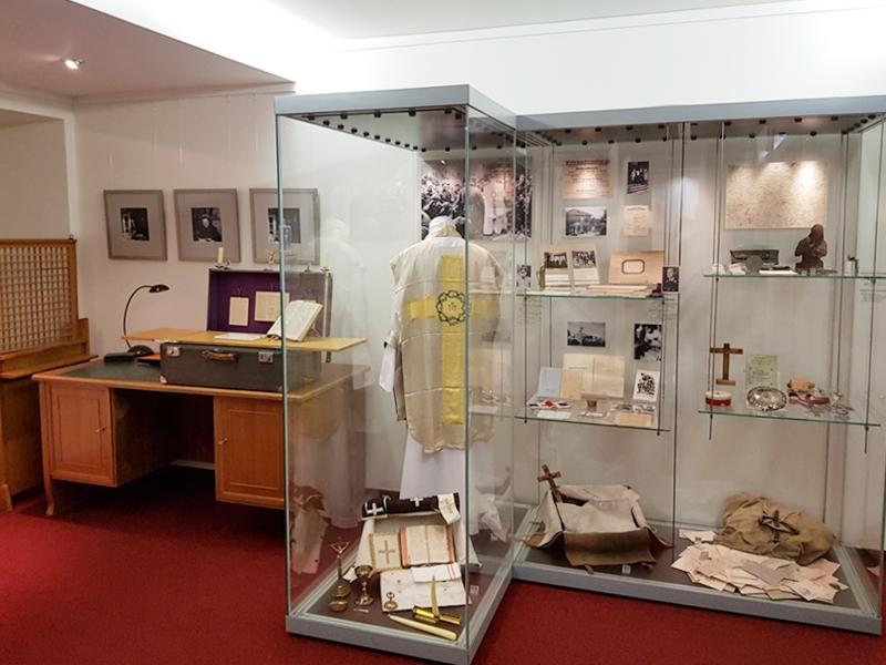 Ausstellung des Archivs des Katholischen Militärbischofs © KS / Barbara Dreiling