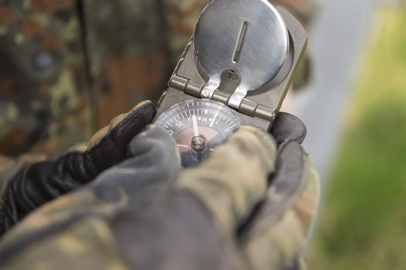 Das Gewissen - eine Art Kompass fürs Leben? © Bundeswehr / Martin Stollberg